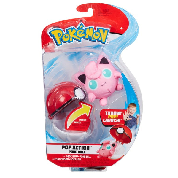 Pokemon Pop Action Poke Ball Jigglypuff And Pokeball