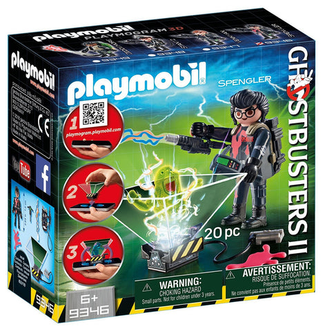 Playmobil Ghostbusters 9346 Egon Spengler