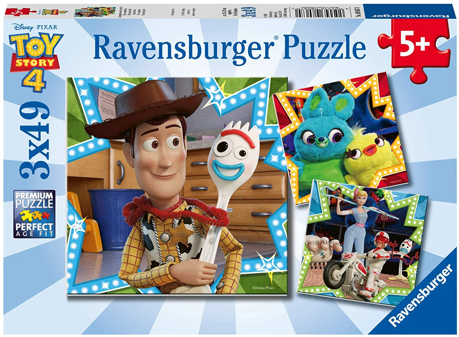 Toy Story 3 x 49pc Jigsaw Puzzle