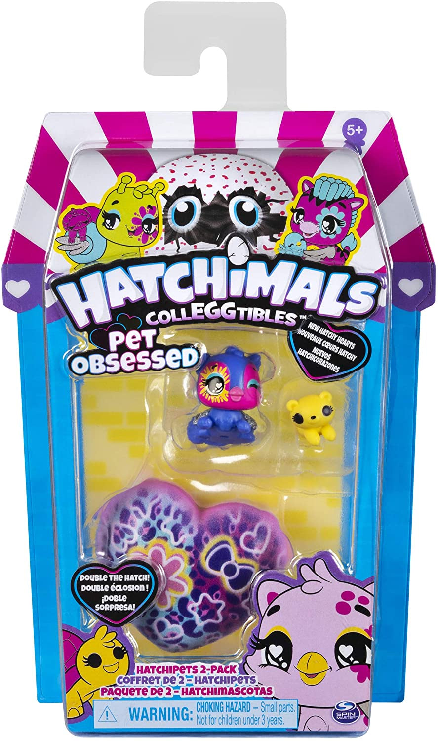 Hatchimals CollEGGtible Pet Obsessed Pet Shop 2pk