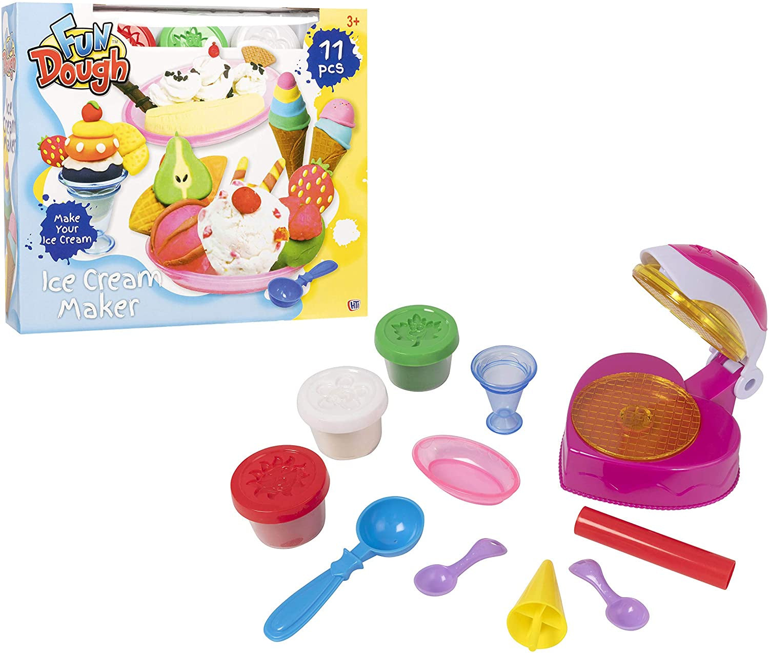 Fun Dough Play-Doh Ice Cream Maker Playset