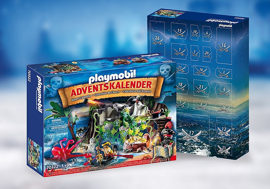 Playmobil Advent Calendar 70322 Pirate Cove Treasure Hunt