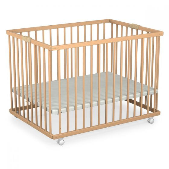 Foldable Wooden Playpen