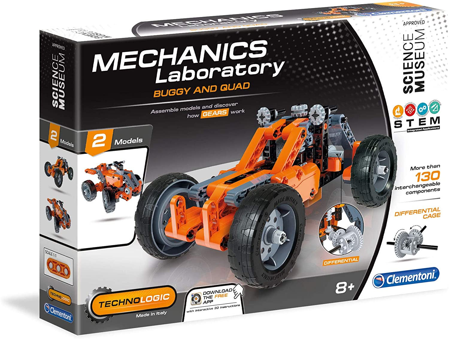 Mechinics Laboratory Buggy And Quad Construction Playset