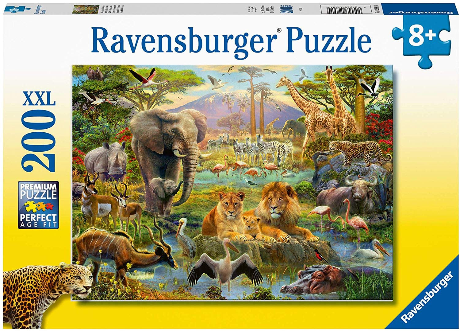 Ravensburger Animals Of The Savanna 200pc XXL Jigsaw Puzzle
