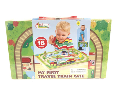 First Learning My First Wooden Train