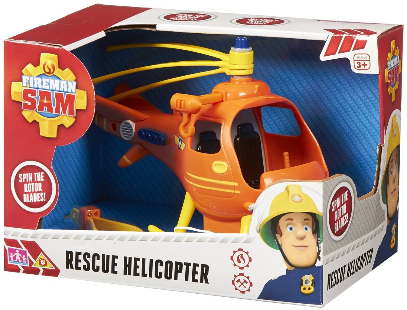 Fireman Sam Wallaby 1 Push Along Vehicle