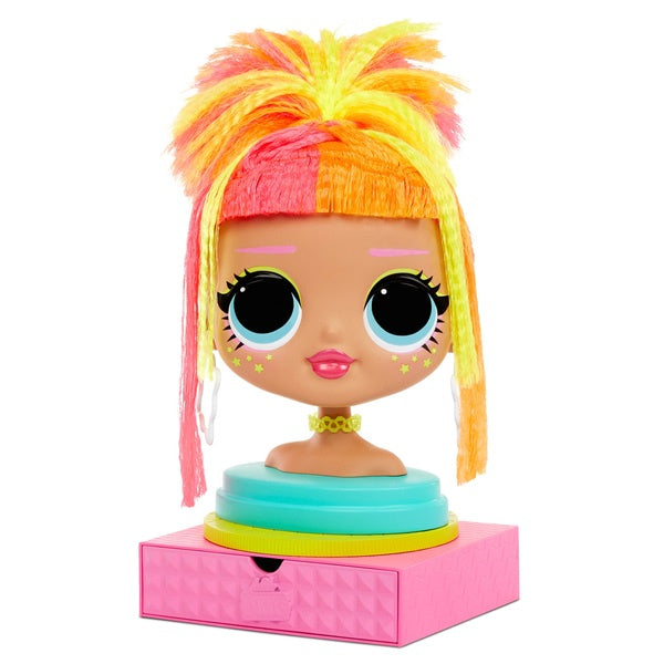 LOL Surprise! OMG Doll Styling Head Neonlicious