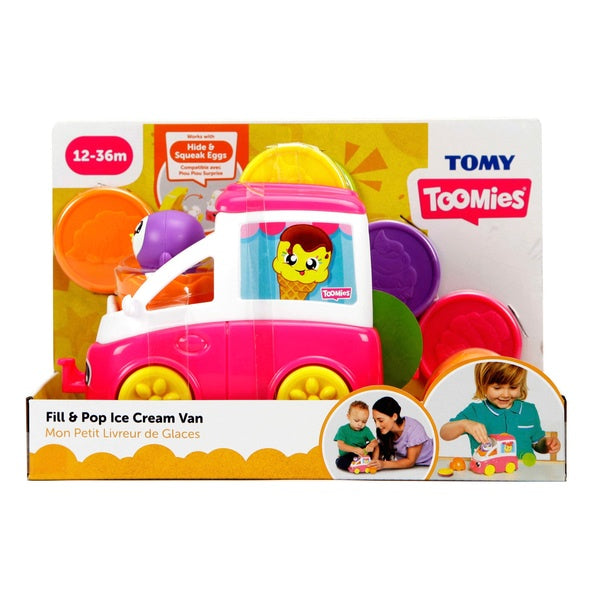 Tomy Toomies Fill And Pop Ice Cream Van
