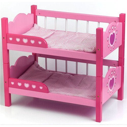 Dolls World Wooden Bunk Beds