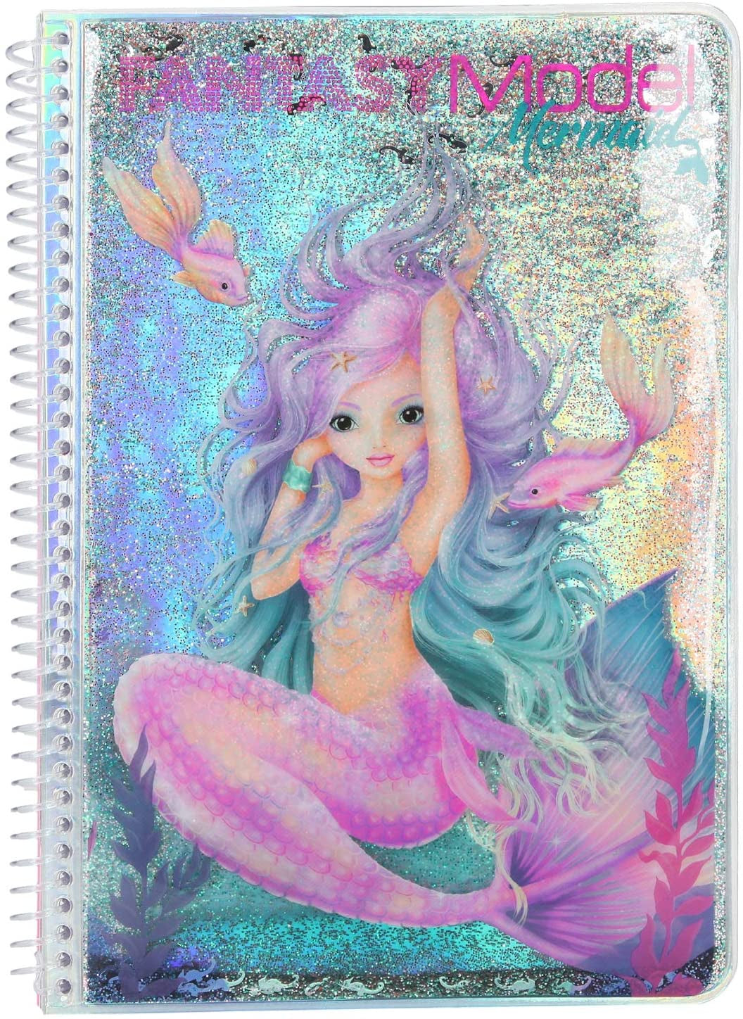 TOPModel Fantasy Model Mermaid Colouring Book 10472