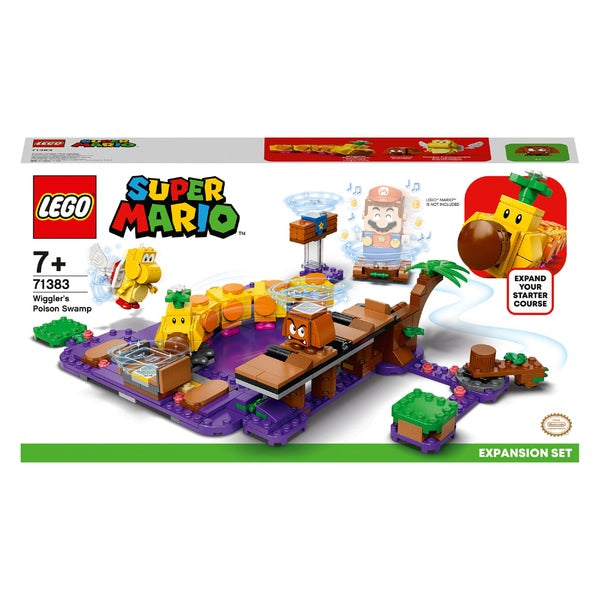 Lego Super Mario 71383 Wiggler's Poison Swamp Expansion Set