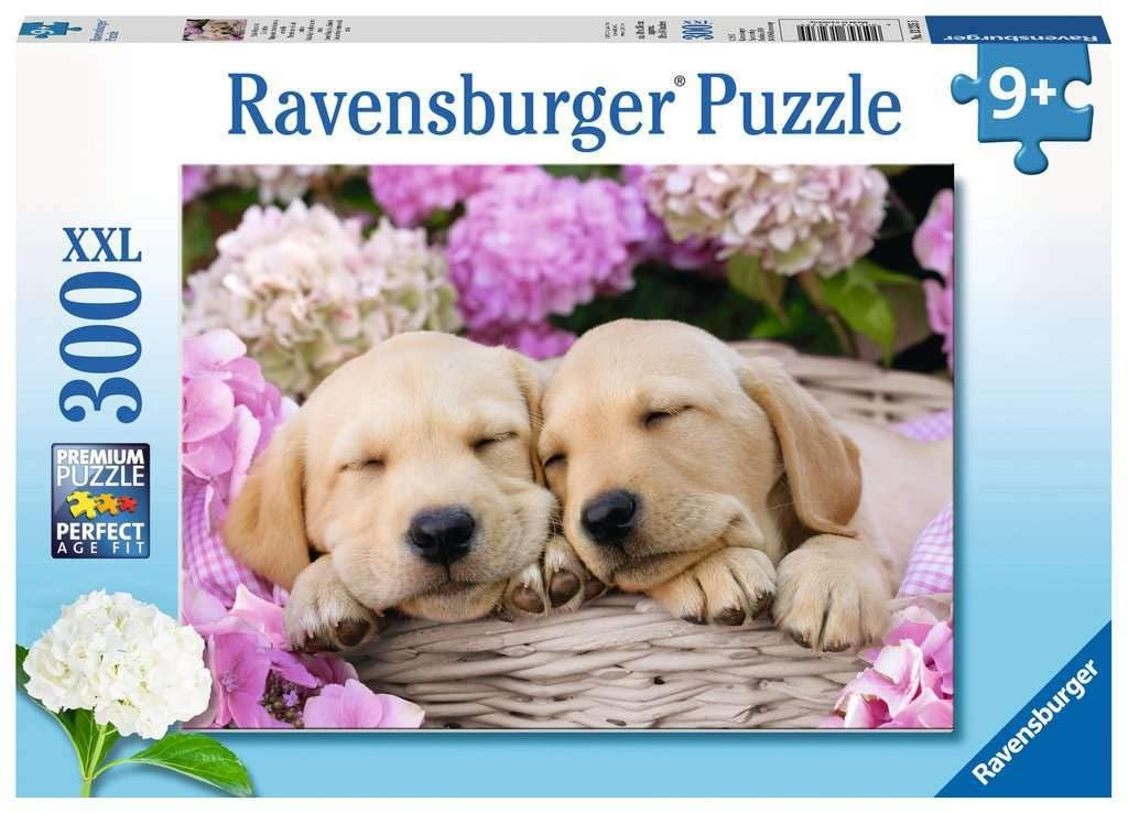 Ravensburger Sweet Dogs In A Basket 300pc Jigsaw Puzzle