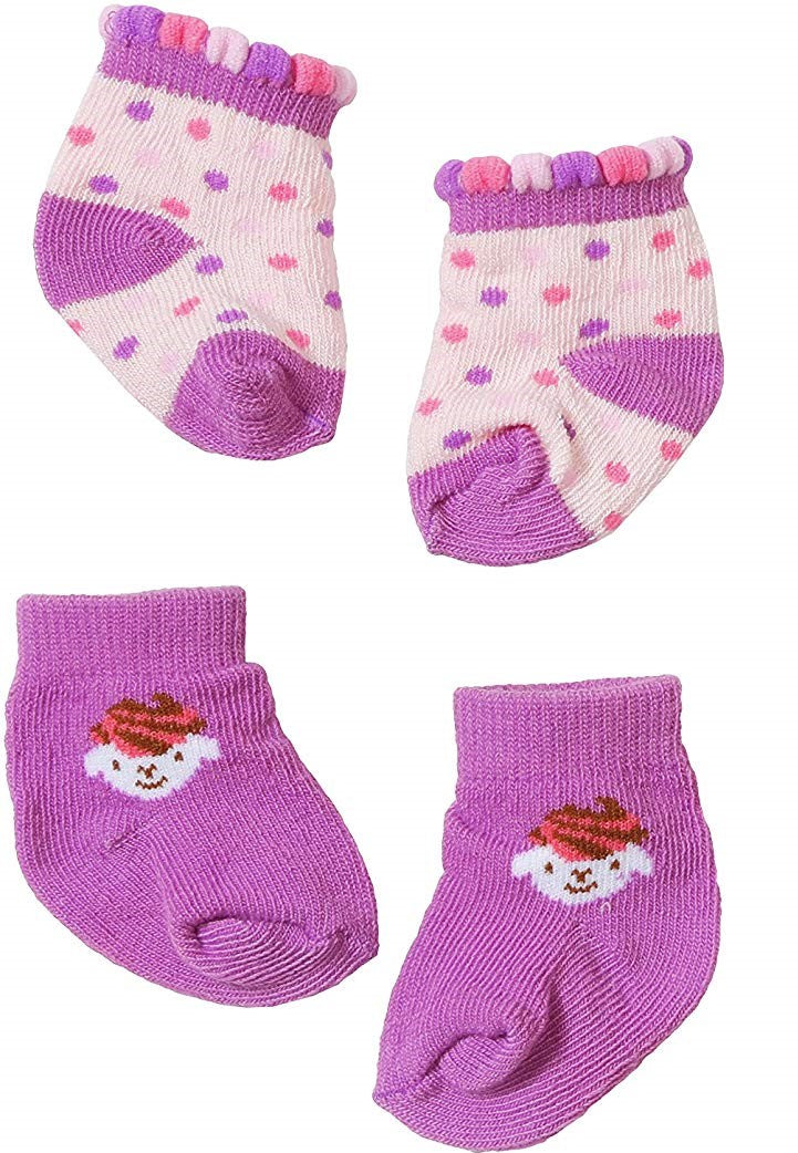 Baby Annabell Socks Purple