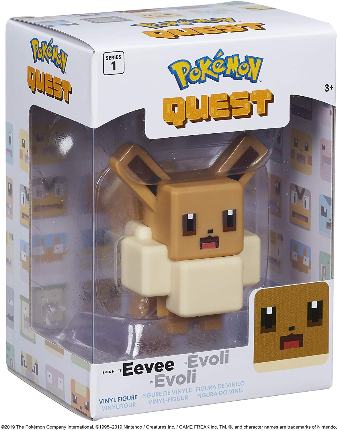 "Pokemon 4"" Vinyl Figures Eevee"