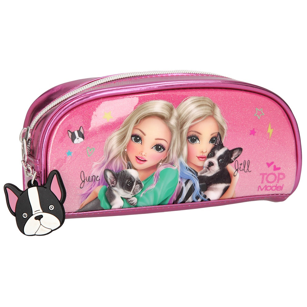 TOPModel Friends Tube Pencil Case Pink