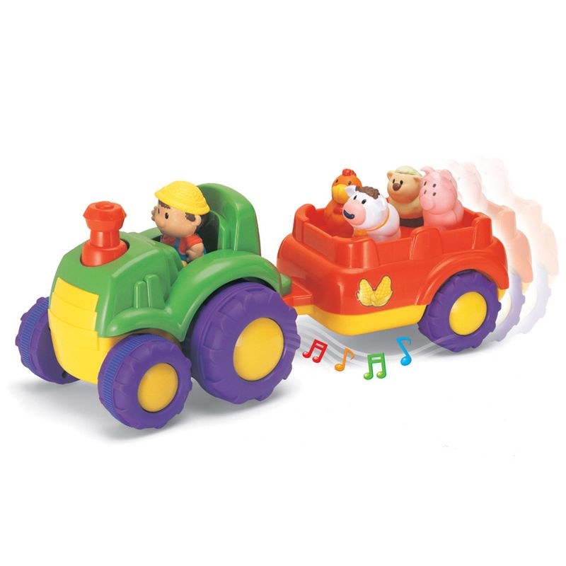 Keenway Fun on Wheels Musical Tractor & Trailer