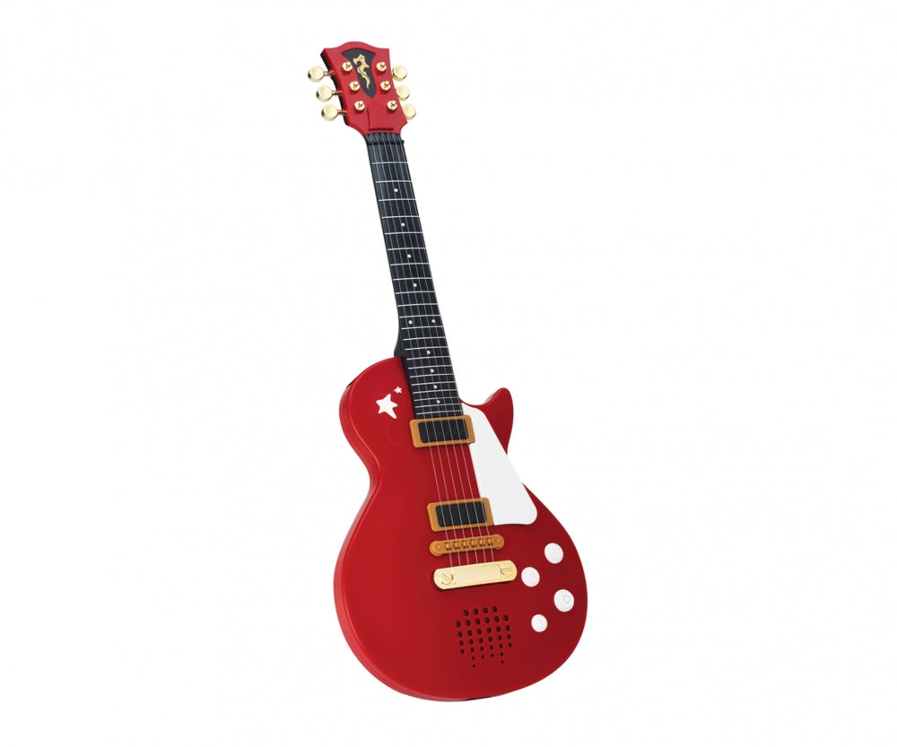 My Music World Rock Guitar Black/Red