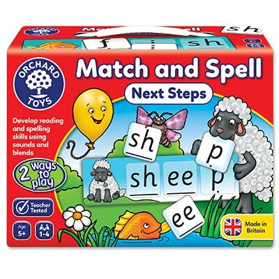 Orchard Toys Match and Spell Next Step Game