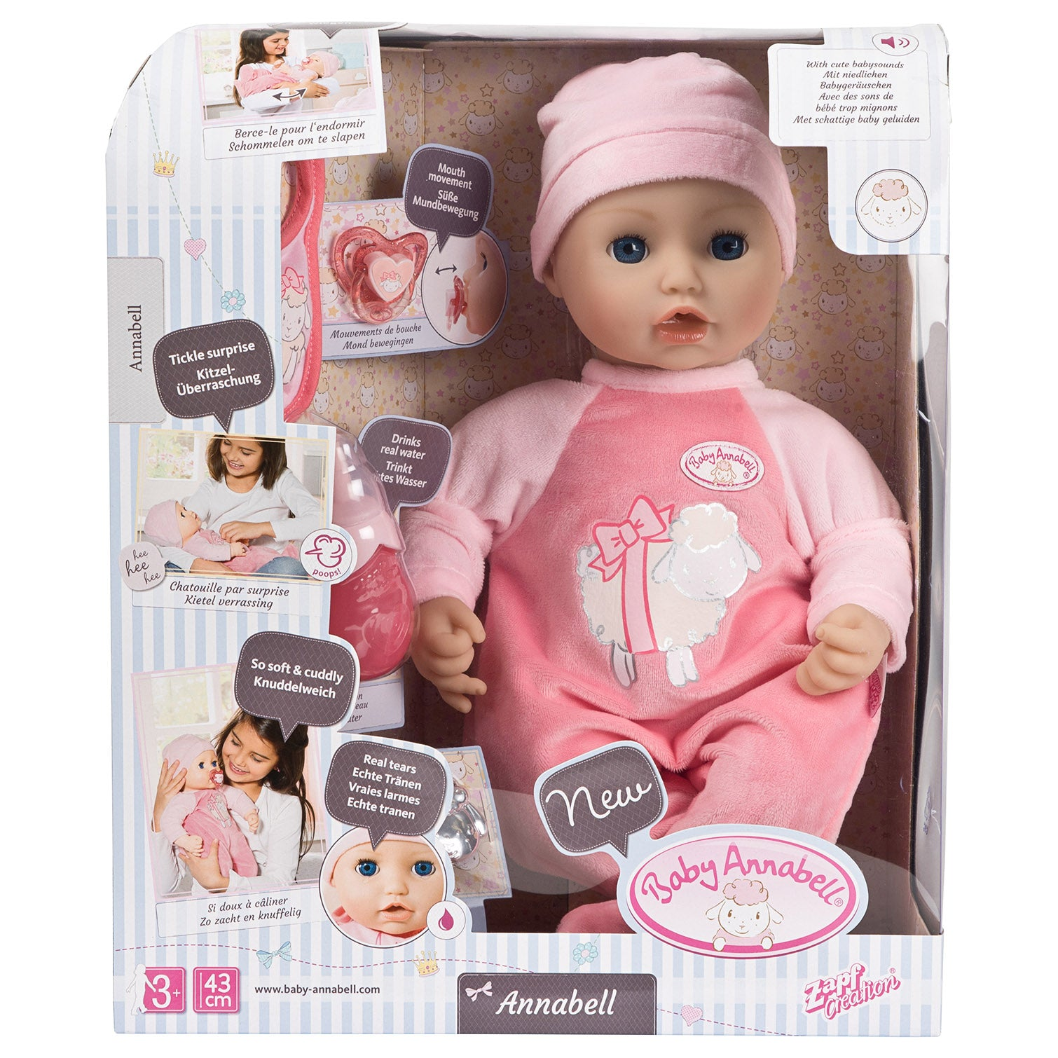 Baby Annabell Interactive Doll   Totally Toys Ireland