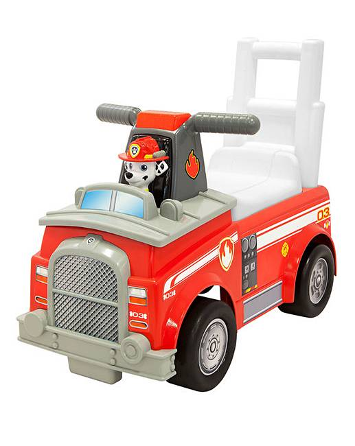 Paw Patrol Marshall Fire Truck Ride-On