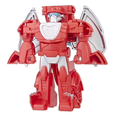 Transformers Rescue Bots - Heatwave the Fire-Bot- Bot to Dragon