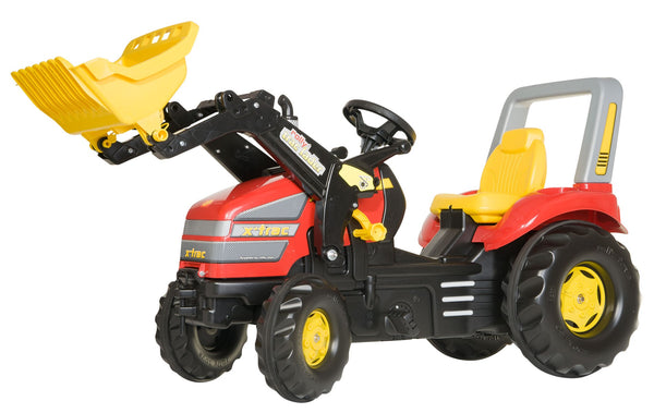 Rolly X-tractor With Front Loader Red
