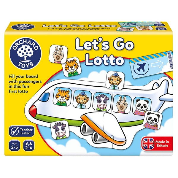 Orchard Toys Let's Go Lotto