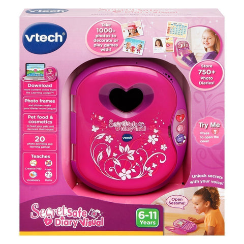 Vtech Secret Safe Diary Visual Colour Screen And Camera