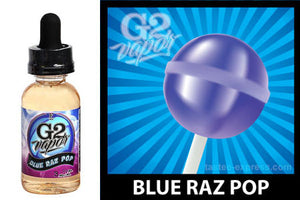 Blue Raz Pop - G2 - 45ml