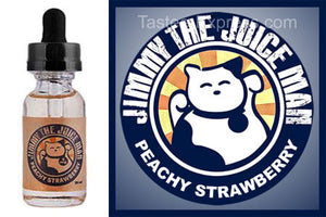 Peachy Strawberry - Jimmy The Juice Man - 30ml