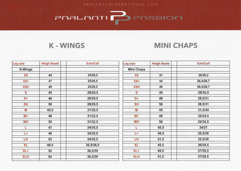 Text - PARLANTI PASSION K - WINGS