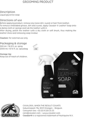 Electronics - CAVALOR LEATHER SOAP