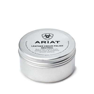 ARIAT LEATHER CREAM POLISH - Neutral - Black