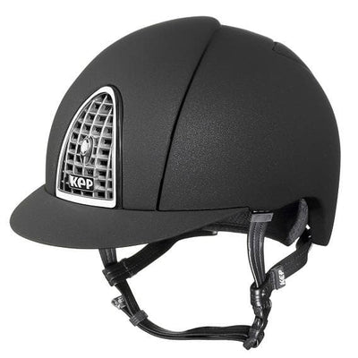 kep italia cromo mica black helmet[Buy High Quality Equestrian Products Online] - HorseworldEU.com