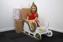 Load image into Gallery viewer, Sleigh with 3D Name - Large Size