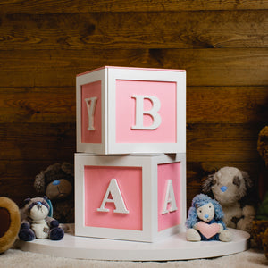 Mini Alphabet Storage Cubes