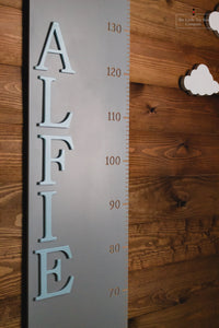 Personalised Height Chart with Square Top