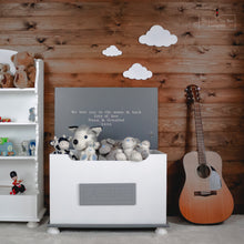 Load image into Gallery viewer, Luxury Toy Box With Engraved Plaque