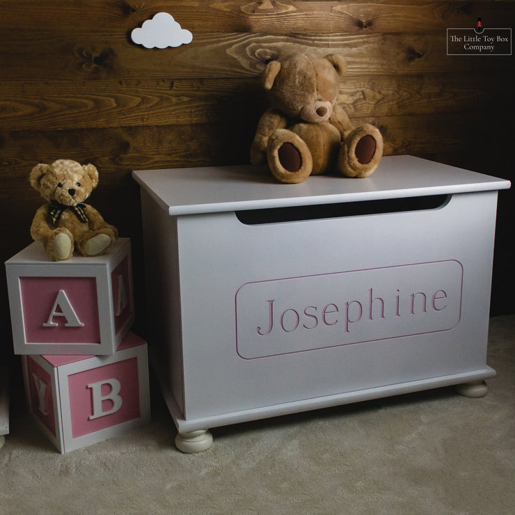 Luxury Engraved Toy Box