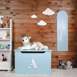 Luxury Single Initial Toy Box