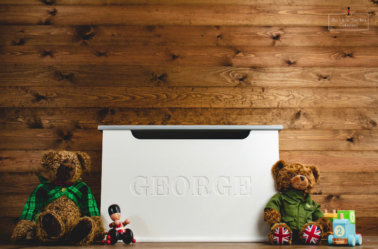 Luxury Engraved Name Toy Box