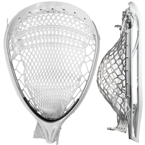 Barricade Lacrosse Goalie Head - Unstrung - White