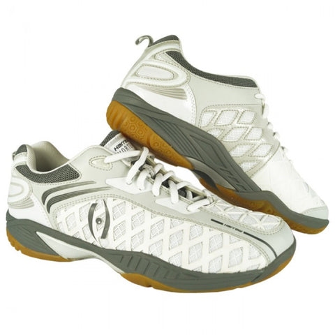 VORTEX Indoor Court Shoe White/Grey