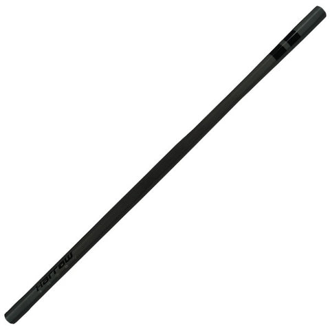 GHOST TAPERED WOMEN'S LACROSSE SHAFT, CARBON FIBER / WHITE