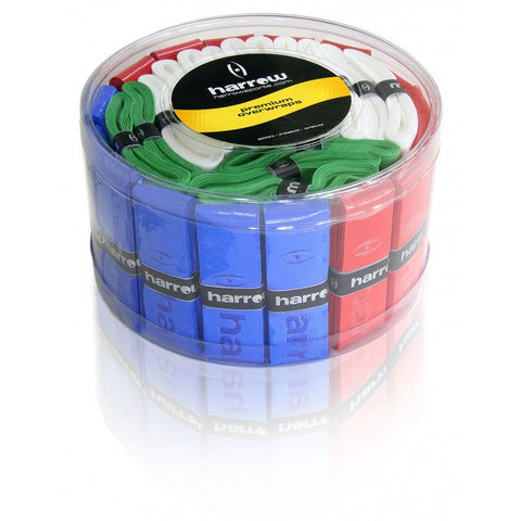 Squash Over Wrap Grip Container with 60 - Assorted