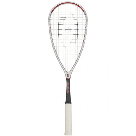Harrow Renegade Squash Racquet - Grey/Red/Black