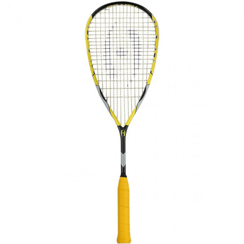 Shock Squash Racquet - Black/Yellow