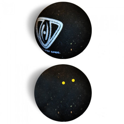 Harrow Squash Singles Ball - Double Yellow Dot