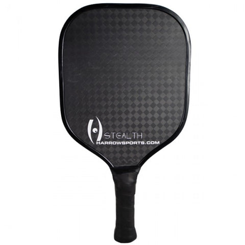 Stealth Pickleball Paddle - USAPA Approved - Black/Grey
